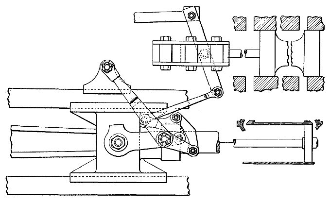 rod and bell-crank assembly