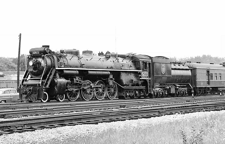 Image result for canadian national 4-8-4 in ontario