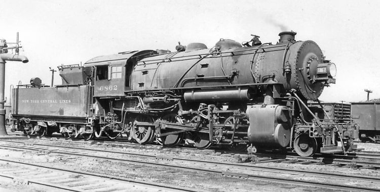 2 8 0 Consolidation Type Locomotives: Richard Leonard's New York Central Collection -- G-46h 2-8