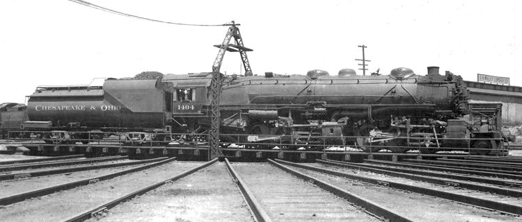 Image result for chesapeake & ohio 2-6-6-2 on coal branches