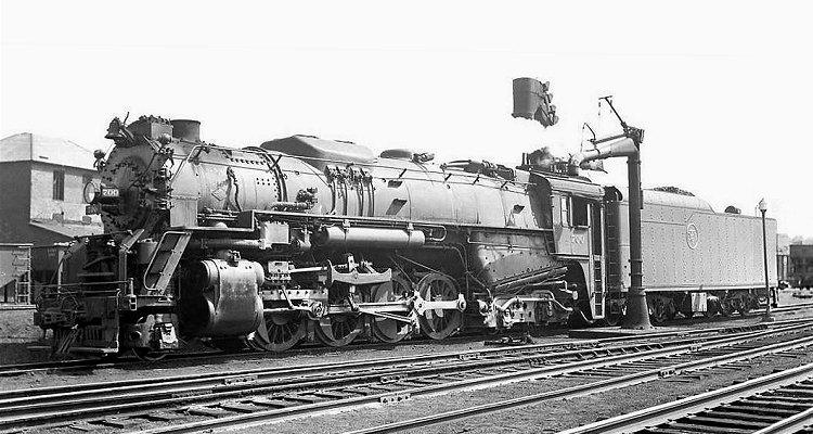 "Toledo /& Ironton #700 Steam Locomotive 8/"" x 10/"" Picture Print Detroit"