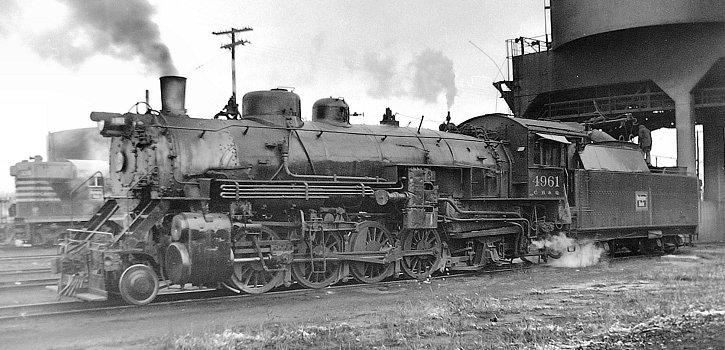 Richard Leonard's Steam Locomotive Archive - Burlington Route
