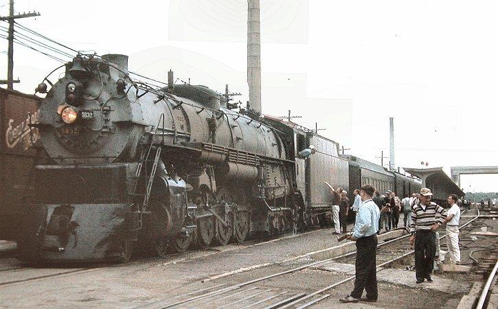 Richard Leonard's Steam Locomotive Archive - Burlington