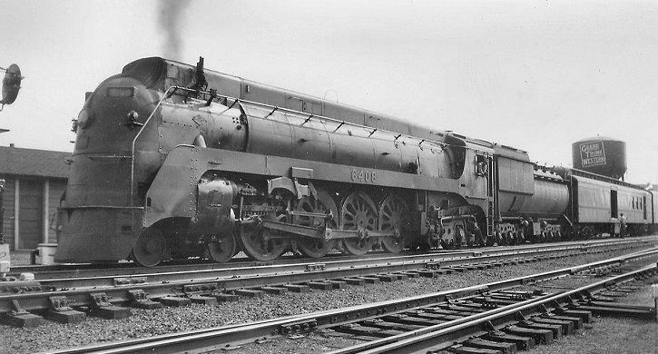 Richard Leonard S Steam Locomotive Archive Grand Trunk