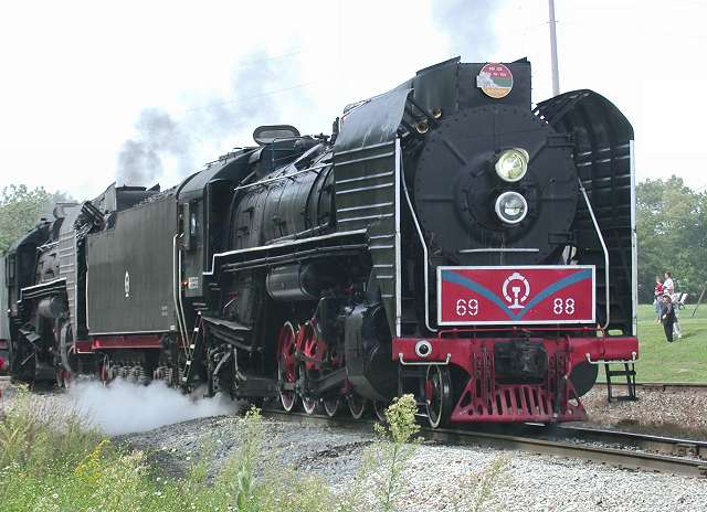 Richard leonard 39 s steam locomotive archive chinese qj 2 for Bureau junction il