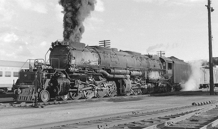 Richard Leonard S Steam Locomotive Archive Union Pacific