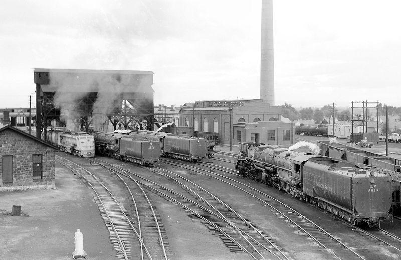 Union Pacific Terminal Laramie Wyoming 1957 Photo By
